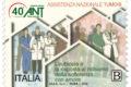 POSTE ITALIANE - 37^ Emissione del 9 Novembre 2018 - 40° Anniversario della fondazione dell'Associazione Nazionale Tumori e il 50° Anniversario dell'Associazione Italiana Sclerosi Multipla