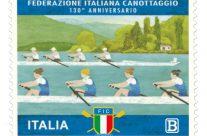 POSTE ITALIANE – 41^ Emissione del 01 Dicembre 2018 – Francobollo dedicato alla F.I.C. Federazione Italiana Canottaggio per il 130° Anniversario della  sua fondazione