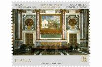 """POSTE ITALIANE  4^ emissione anno 2019 """"francobollo celebrativo del 90° anniversario della firma dei Patti Lateranensi """""""