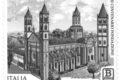 """POSTE ITALIANE  5^ emissione anno 2019 """"francobollo dedicato all'Abbazia di Sant'Andrea - Vercelli, nell'VIII centenario della fondazione."""""""