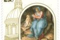 POSTE ITALIANE 21^ emissione anno 2019 del 11 Maggio di un francobollo celebrativo dell'Immagine della Beata Vergine della Ghiara, nel IV centenario della traslazione e dell'inaugurazione della Basilica