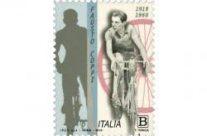 """POSTE ITALIANE 44^ emissione  del 15 Settembre  2019 di un francobollo ordinario appartenente alla serie tematica """"lo Sport"""" dedicato a Fausto Coppi, nel centenario della nascita."""
