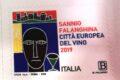POSTE ITALIANE 46^ emissione  del 28 Settembre  2019 di un francobollo celebrativo del Sannio Falanghina, Città europea del vino 2019.