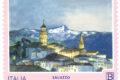 POSTE ITALIANE 51^ emissione  del 10 Ottobre  2019 di quattro francobolli dedicati al turismo: Troia, Portoferraio, Orbetello e Saluzzo