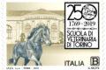 POSTE ITALIANE 56^ emissione  del 31 Ottobre  2019 di un francobollo dedicato alla Facoltà di Medicina Veterinaria di Torino, nel 250° anniversario della fondazione.