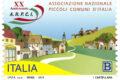 POSTE ITALIANE 52^ emissione  del 11 Ottobre  2019 di un francobollo celebrativo dell'Associazione Nazionale dei Piccoli Comuni d'Italia, nel 20° anniversario della costituzione