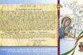 POSTE ITALIANE 63^ emissione  del 21 novembre  2019 di un francobollo celebrativo della Virgo Fidelis, Patrona dell'Arma dei Carabinieri, nel 70° anniversario della proclamazione