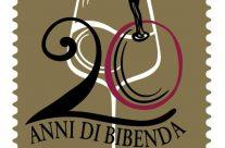 POSTE ITALIANE 67^ emissione  del 30 novembre  2019 di un francobollo celebrativo della Guida Bibenda, nel 20° anniversario della fondazione