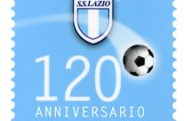 POSTE ITALIANE 1^ emissione  del 09 Gennaio  2020 di un francobollo dedicato alla S.S. Lazio S.p.A., nel 120° anniversario della fondazione