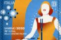 POSTE ITALIANE 4^ emissione  del 07 Febbraio 2020 di un francobollo celebrativo del Festival della canzone italiana, nella 70^ edizione