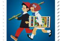 POSTE ITALIANE 9^ emissione  del 21 Maggio 2020 di un francobollo dedicato alla Fabbrica Italiana Lapis ed Affini – F.I.L.A., nel centenario della fondazione
