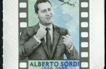 POSTE ITALIANE 15^ emissione  del 15 giugno 2020 di un francobollo dedicato ad Alberto Sordi, nel centenario della nascita