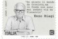 POSTE ITALIANE 28^ emissione  del 09 Agosto 2020 di un francobollo commemorativo di Enzo Biagi, nel centenario della nascita