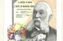 POSTE ITALIANE 27^ emissione  del 04 Agosto 2020 di un francobollo  commemorativo di Pellegrino Artusi, nel bicentenario della nascita