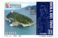 """POSTE ITALIANE 34^  emissione  del 11 Settembre 2020 di un francobollo ordinario appartenente alla serie tematica: """"il Patrimonio naturale e paesaggistico"""" dedicato all'Isola del Tino"""