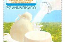 POSTE ITALIANE 36^  emissione  del 14 Settembre 2020 di un francobollo dedicato alla Associazione Italiana Lattiero Casearia – Assolatte, nel 75° anniversario della fondazione