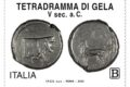 POSTE ITALIANE 33^  emissione  del 08 Settembre 2020 di un francobollo dedicato al Tetradramma di Gela