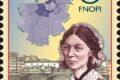 POSTE ITALIANE 67^  emissione  del 29 ottobre 2020  di un francobollo dedicato alla professione infermieristica e a Florence Nightingale, nel secondo centenario della nascita