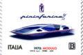 POSTE ITALIANE 53^  emissione  del 08 ottobre 2020  di un francobollo dedicato alla Pininfarina Modulo, nel 50° anniversario della presentazione al Salone dell'Automobile di Ginevra