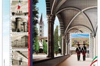 POSTE ITALIANE 56^  emissione  del 15 ottobre 2020  di un francobollo celebrativo della Scuola Marescialli e Brigadieri dei Carabinieri, nel centesimo anniversario dell'inizio delle attività