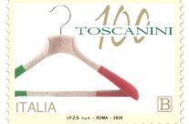 POSTE ITALIANE 50^  emissione  del 01 ottobre 2020  di un francobollo dedicato alle Industrie Toscanini S.r.l, nel centenario della fondazione