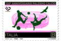 POSTE ITALIANE 68^  emissione  del 01 novembre 2020  di un francobollo dedicato al Palermo Football Club S.p.A., nel 120° anniversario della fondazione