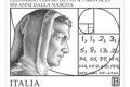 POSTE ITALIANE 82^  EMISSIONE  DEL 23  NOVEMBRE 2020  DI UN FRANCOBOLLO commemorativo di Leonardo Pisano detto il Fibonacci, nell'850° anniversario della nascita