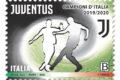 POSTE ITALIANE 74^  EMISSIONE  DEL 17  NOVEMBRE 2020  DI UN FRANCOBOLLO dedicato alla Squadra vincitrice del Campionato di calcio di Serie A