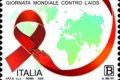 POSTE ITALIANE 86^ EMISSIONE DEL 01 DICEMBRE 2020 DI UN FRANCOBOLLO dedicato alla Giornata mondiale per la lotta all'AIDS