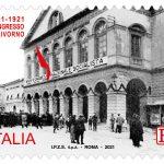 POSTE ITALIANE 2^ EMISSIONE DEL 21 GENNAIO 2021  DI UN FRANCOBOLLO celebrativo del centenario del Congresso di Livorno