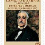 POSTE ITALIANE 5^ EMISSIONE DEL 13 FEBBRAIO 2021  DI UN FRANCOBOLLO commemorativo di Camillo d'Errico nel bicentenario della nascita