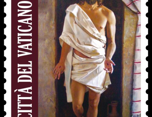 POSTE VATICANE 2^ EMISSIONE DEL 22 FEBBRAIO 2021 DI UN FRANCOBOLLO RELATIVO ALLA PASQUA DI RESURREZIONE MMXXI