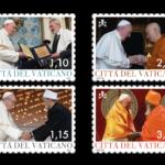 POSTE vaticaNE 1^ EMISSIONE DEL 22 FEBBRAIO 2021  DI n.4 FRANCOBOLLi, relativi al pontificato di papa francesco anno mmxxi