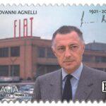 POSTE ITALIANE 6^ EMISSIONE DEL 12 marzo 2021 di un francobollo commemorativo di Giovanni Agnelli, nel centenario della nascita