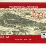 POSTE ITALIANE 8^ EMISSIONE DEL 25 MARZO 2021 DI UN FRANCOBOLLO celebrativo di Venezia, nel 1600° anniversario della fondazione