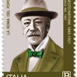 POSTE ITALIANE 10^ EMISSIONE DEL 09 aprile 2021 DI UN FRANCOBOLLO commemorativo di Ernesto Nathan, nel centenario della scomparsa