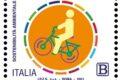 POSTE ITALIANE 12^ EMISSIONE DEL 22 APRILE 2021 DI UN francobollo dedicato alla sostenibilità ambientale