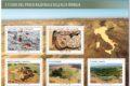 M.I.S.E. 21^-22^-23^-24^ 25^ Emissione di N.5 francobolli dedicati ai Tesori del Parco Nazionale dell'Alta Murgia -FOGLIETTO-
