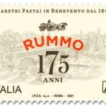 M.I.S.E. 30^ EMISSIONE DI UN FRANCOBOLLO dedicato a Rummo S.p.A., nel 175° anniversario della fondazione