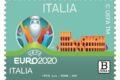 """M.I.S.E. 31^ EMISSIONE DI UN FRANCOBOLLO ordinario appartenente alla serie tematica """"lo Sport"""" dedicato a UEFA EURO 2020 ITALIA"""