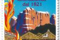 """M.I.S.E. 44^ EMISSIONE di n.1 francobollo appartenente alla serie tematica """"le eccellenze del sistema produttivo ed economico""""  dedicato a ITAS Mutua, nel bicentenario della fondazione."""