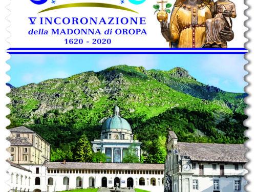 M.I.S.E. 57^ EMISSIONE di un francobollo   dedicato al Santuario di Oropa facente parte del  patrimonio artistico e culturale italiano