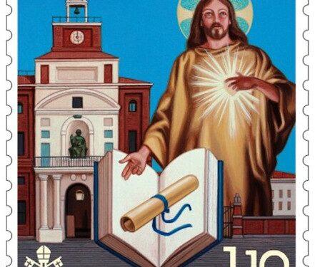 POSTE VATICANE 13^ EMISSIONE DEL 08 settembre 2021, di n.1 francobollo dedicato al Centenario della Fondazione dell'università Cattolica del Sacro Cuore