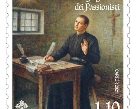 POSTE VATICANE 16^ EMISSIONE DEL 08 settembre 2021, di n.1 francobollo celebrativo al III centenario della Congregazione dei Passionisti