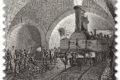 """M.I.S.E. 67^ EMISSIONE di un francobollo ordinario appartenente alla serie tematica """"le eccellenze del Sistema Produttivo ed Economico"""" dedicato al Traforo Ferroviario del FREJUS, nel 150° anniversario dell'inaugurazione."""