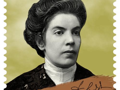 M.I.S.E. 68^ EMISSIONE di un francobollo commemorativo di Grazia DELEDDA, nel 150° anniversario della nascita