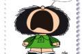 """M.I.S.E. 70^ EMISSIONE di un francobollo ordinario appartenente alla serie tematica """" le eccellenze italiane dello spettacolo"""" dedicato a Mafalda"""