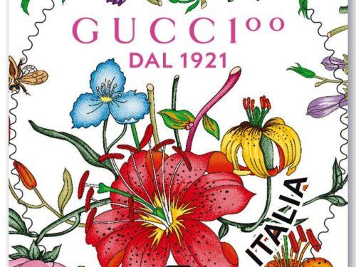 M.I.S.E. 62^ EMISSIONE di un francobollo  ordinario dedicato alla Guccio GUCCI S.p.a., nel centenario della fondazione