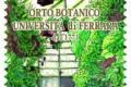 M.I.S.E. 61^ EMISSIONE di un francobollo  ordinario dedicato all'Orto Botanico dell'Università di Ferrara, nel 250° anniversario della fondazione
